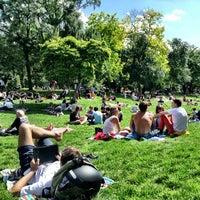 Photo taken at Parc Monceau by Daniel A. on 6/30/2013