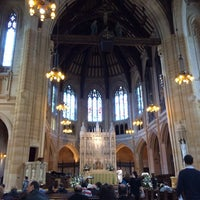 Photo taken at St. Dominic's Catholic Church by Jiyoung K. on 3/2/2014