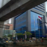 Photo taken at Jalan Profesor Doktor Satrio by Verina on 12/8/2012