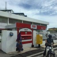 Photo taken at Pejabat Pos (Post Office) by Adam S. on 6/20/2016