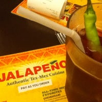 Photo taken at Jalapeño Authentic Tex-Mex Cuisine by Saara A. on 3/29/2013