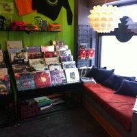 Photo taken at Darkside Records & Gallery by Joe U. on 2/28/2013