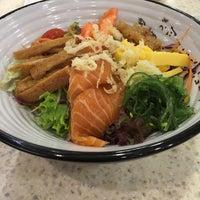 Photo taken at Sakae Sushi by Emily C. on 12/19/2015