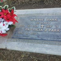 Photo taken at Clovis Cemetary by Janice K. on 12/8/2013