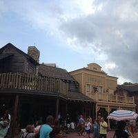 Photo taken at Frontierland by The Fabe on 7/24/2013