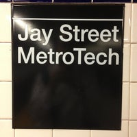 Photo taken at MTA Subway - Jay St/MetroTech (A/C/F/R) by Gene B. on 5/20/2013