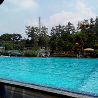 Photo taken at Karang Setra Swimming Pool by Romi H. on 4/29/2014