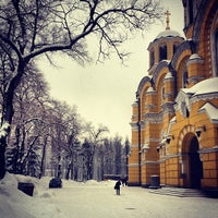 Photo taken at St Volodymyr's Cathedral by Лена Б. on 1/12/2013