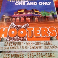 Photo taken at Hooters by Sheldon D. on 11/25/2012