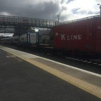 Photo taken at Kildare Railway Station by Hettie S. on 4/18/2016