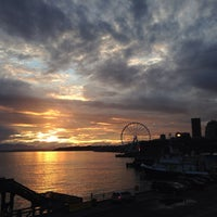 Photo taken at Seattle Ferry Terminal by Rick G. on 6/27/2013