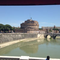 Photo taken at Giardini di Castel Sant'Angelo by Dogu P. on 5/18/2013