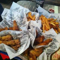 Photo taken at Wingstop by Jared F. on 11/14/2012
