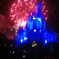 Photo taken at Wishes Nighttime Spectacular by Rodrigo P. on 4/21/2012