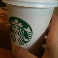 Photo taken at Starbucks Coffee by Miriam C. on 4/18/2012