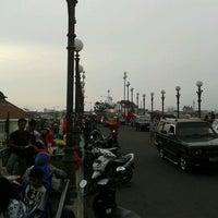 Photo taken at Jembatan Siti Nurbaya by arie on 8/31/2011