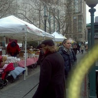Photo taken at Tucker Square Greenmarket by Claudeth F. on 12/15/2011