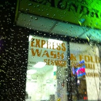 Photo taken at Columbia Pike Coin Laundromat by Chris A. on 12/6/2011