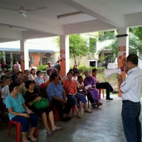Photo taken at SMK Bandar Puchong Jaya (A) by Sam O. on 5/6/2012
