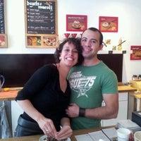 Photo taken at Rocaccino Rockin' Coffee by Rani v. on 10/8/2011
