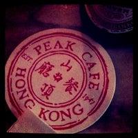Photo taken at Peak Café & Bar 山頂餐廳酒吧 by Cheelip O. on 5/1/2011