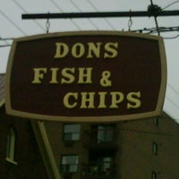 Photo taken at Don's Fish & Chips by Hendrik P. on 6/11/2011