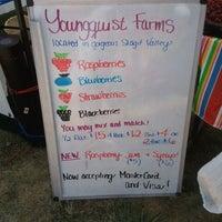 Photo taken at Oak Harbor Farmers Market by Kelsey S. on 8/18/2011