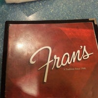 Photo taken at Fran's by Xander C. on 12/18/2011