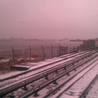 Photo taken at MTA Subway - Broad Channel (A/S) by Patrick M. on 1/21/2012