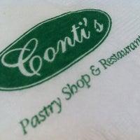 Photo taken at Conti's Bakeshop & Restaurant by Trissie C. on 8/22/2011