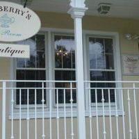 Photo taken at Teaberry's Tea Room by Leslie M. on 10/22/2011