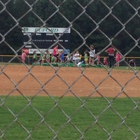 Photo taken at Buford HS Baseball Field by Ashley T. on 9/4/2012