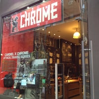 Photo taken at Chrome Industries by Brian D. on 4/10/2012