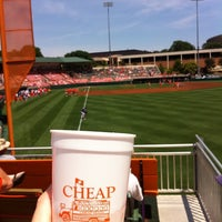 Photo taken at Doug Kingsmore Stadium by Brad S. on 5/7/2011
