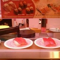 Photo taken at かっぱ寿司 十日町店 by GgG on 11/4/2011
