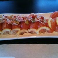 Photo taken at Hiroba Sushi by Ryan C. on 3/24/2012