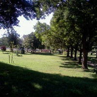 Photo taken at Locust Point Dog Park by Keith P. on 8/23/2011