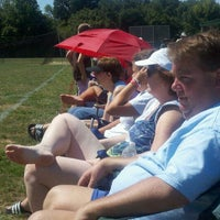 Photo taken at Finley Ray Field by Chris K. on 8/28/2011