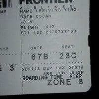 Photo taken at Gate 67B by 🎀Cheryl🎀 on 1/6/2012