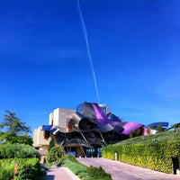 Photo taken at Hotel Marqués de Riscal by Giuliano G. on 8/17/2012