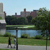 Photo taken at Central Park - Harlem Meer by Michelle M. on 8/13/2011