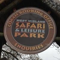 Photo taken at West Midland Safari & Leisure Park by Alex T. on 5/7/2012