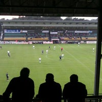 Photo taken at Soevereinstadion | Lommel United by Brands W. on 8/27/2011