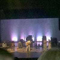 Photo taken at Teatro Municipal de Itajaí by Weslley C. on 10/15/2011