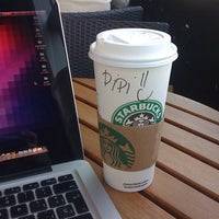Photo taken at Starbucks by Sergio L. on 10/14/2011
