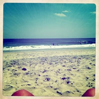 Photo taken at Mantoloking Beach by Jules G. on 6/26/2011