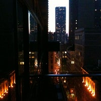 Photo taken at Gansevoort Park Avenue NYC by Mia G. on 4/17/2012
