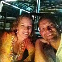 Photo taken at Rocks Bar @ Vomo Island Resort by Kristin D. on 5/20/2012