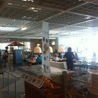 Photo taken at IKEA Restaurant by Sebastian Lukas on 6/16/2012
