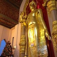 Photo taken at Wat Phra Pathom Chedi by windy c. on 4/14/2012